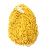 Seedbead 10/0 Luster Strung Opaque Yellow